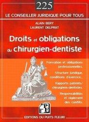 Souvent acheté avec Expertise dentaire et maxillo-faciale, le Droits et obligations du chirurgien-dentiste