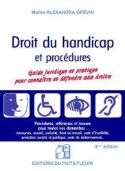 Nouvelle édition Droit du handicap