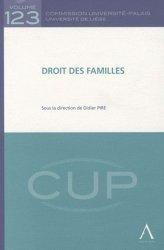 Dernières parutions dans Commission Université-Palais, Droit des familles