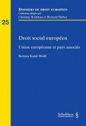 Dernières parutions sur Droit social européen, Droit social européen