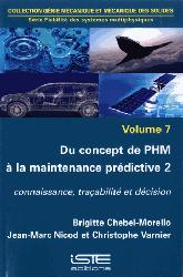 Dernières parutions sur Mécanique des solides, Du concept de PHM à la maintenance prédictive 2