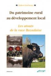 Souvent acheté avec Nutrition et alimentation des animaux d'élevage Tome2 - 2013, le Du patrimoine rural au développement local