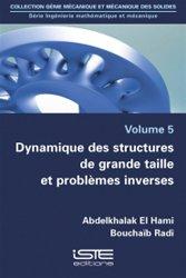 Dernières parutions sur Structures, Dynamique des structures de grande taille et problèmes inverses