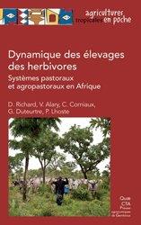 Dernières parutions sur Production animale, Dynamique de l'élevage des herbivores