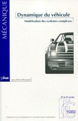Dernières parutions dans Mécanique, Dynamique du véhicule