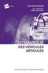 Dernières parutions dans Métis Lyon Tech , Dynamique des véhicules articulés