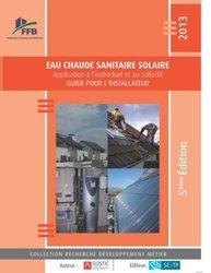 Dernières parutions dans Recherche développement métier, Eau chaude sanitaire solaire