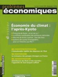 Dernières parutions dans Problèmes économiques, Économie du climat : l'aprés-Kyoto