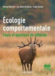 Dernières parutions sur Écologie - Environnement, Écologie comportementale