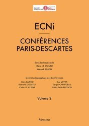 Souvent acheté avec Les annales ECNi 2018 pas comme les autres, le ECNi - Conférences Paris-Descartes 2016-2017