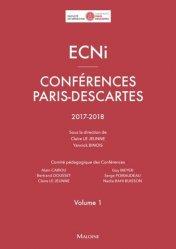 Souvent acheté avec ECNi - Conférences Paris-Descartes 2016-2017, le ECNi – Conférences Paris-Descartes 2017-2018