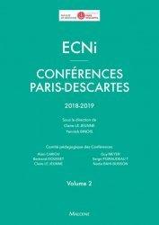 Dernières parutions sur ECN iECN DFASM DCEM, ECNi - Conférences Paris-Descartes 2018-2019