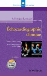 Souvent acheté avec L'épreuve d'effort en cardiologie, le Échocardiographie clinique