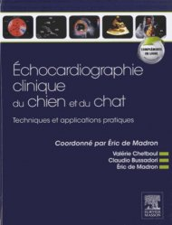 Dernières parutions sur Imagerie, Échocardiographie clinique du chien et du chat
