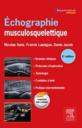 Dernières parutions sur Echographie, Échographie Musculosquelettique