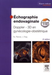 Dernières parutions sur Imagerie gynécologique, Échographie endovaginale Doppler - 3D