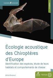 Dernières parutions sur Animaux, Ecologie acoustique des chiropteres d'europe 4eme edition