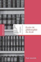 Dernières parutions sur Autres ouvrages de philosophie du droit, Ecrits de philosophie du droit
