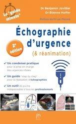 Dernières parutions sur Urgences, echographie d'urgence (et reanimation) 2e e dition