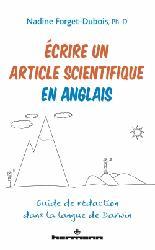 Souvent acheté avec Démences, le Écrire un article scientifique en anglais