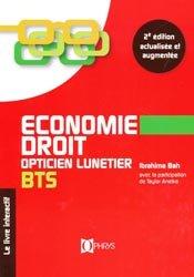 Souvent acheté avec Optique géométrique et physique, le Économie-Droit BTS