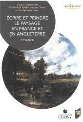 Dernières parutions dans Art & Société, Écrire et peindre le paysage en France et en Angleterre