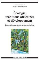 Dernières parutions dans Hommes et Sociétés, Ecologie, traditions africaines et développement