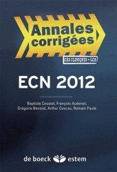Souvent acheté avec Conférences de consensus et recommandations 2007-2008, le ECN 2012