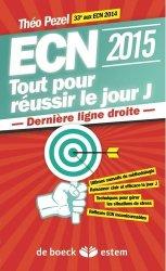 Souvent acheté avec 15 jours avant l'ECN, le ECN 2015 : Tout pour réussir le jour J