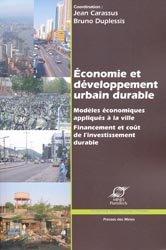 Dernières parutions dans Développement Durable, Économie et développement urbain durable