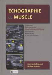 Dernières parutions sur Echographie, Echographie du muscle