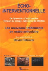 Dernières parutions sur Orthopédie - Traumatologie, Echo-interventionnelle