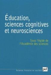 Dernières parutions dans Science, histoire et société, Education, sciences cognitives et neurosciences. Quelques réflexions sur l'acte d'apprendre