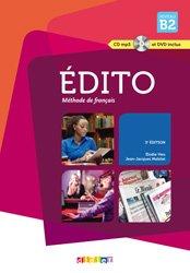 Dernières parutions dans edito, Edito Méthode de Français - Livre, CD et DVD