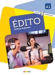 Dernières parutions dans edito, Edito Méthode de Français : Livre de l'Élève - Livre, CD MP3 et DVD