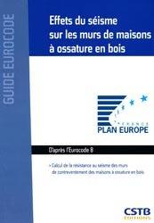 Dernières parutions dans Guide Eurocode, Effets du séisme sur les murs de maisons à ossature en bois