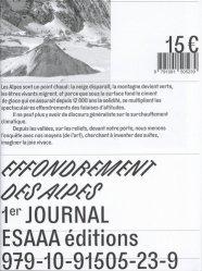 Dernières parutions sur Paysages de montagne, Effondrement des Alpes