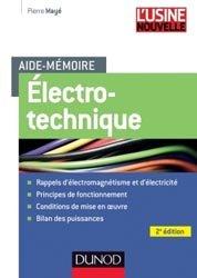 Dernières parutions sur Electrotechnique, Electrotechnique
