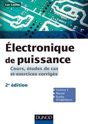 Dernières parutions sur Cours d'électronique, Electronique de puissance