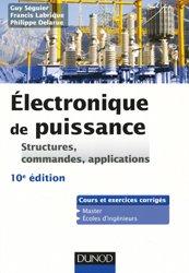 Dernières parutions sur Cours d'électronique, Electronique de puissance - Structures, commandes, applications