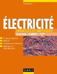 Dernières parutions sur Electricité, Electricité - Exercices et méthodes