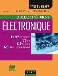 Dernières parutions dans Tout en fiches, Electronique - Exercices et méthodes