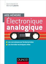 Dernières parutions sur Electronique, Electronique analogique