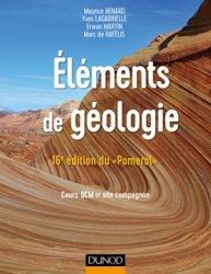 Souvent acheté avec Le guide du géologue amateur, le Eléments de géologie - 16e édition du