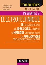Dernières parutions dans Tout en fiches, Électrotechnique - Licence 1 et 2 - IUT