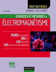 Dernières parutions dans Tout en fiches, Electromagnétisme