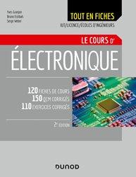 Nouvelle édition Electronique - Tout le cours en fiches