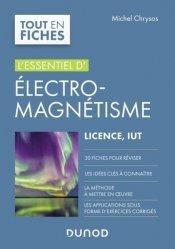 Dernières parutions dans Tout en fiches, Electro-magnétisme
