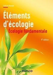 Dernières parutions sur Écologie - Environnement, Elements d'écologie