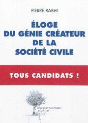 Dernières parutions dans Essais sciences, Eloge du génie créateur de la société civile - Tous Candidats